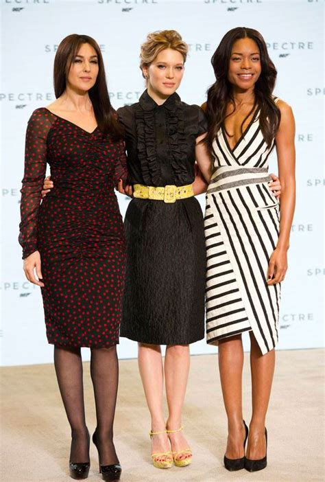 monica bellucci early years spectre bond girls monica bellucci and l 233 a seydoux invoved