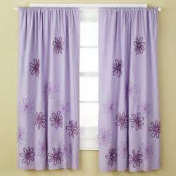 Girls Sheer Curtains Children S Happy Life Girls Curtains Girls Purple Flower