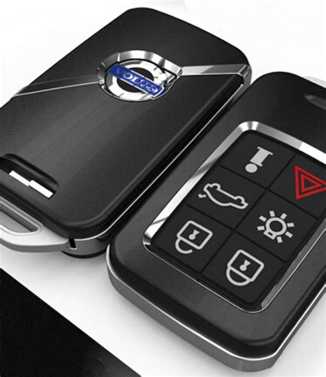 abs smart remote key case ring shell holder cover  volvo xc     xc
