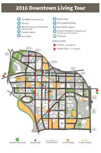 map of downtown 2016 downtown living tour map 187 downtown committee of syracuse