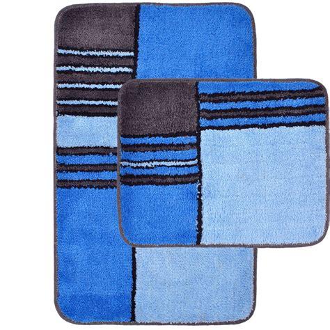 bad teppich set bad garnitur 2 teilig teppich badezimmer matte set
