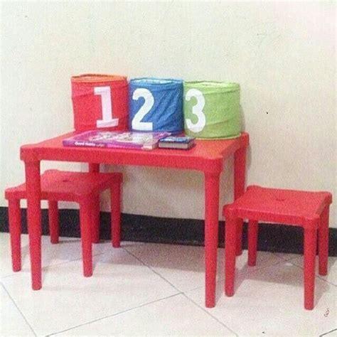 Meja Belajar Budak meja kerusi kanak kanak ikea bayi kanak kanak