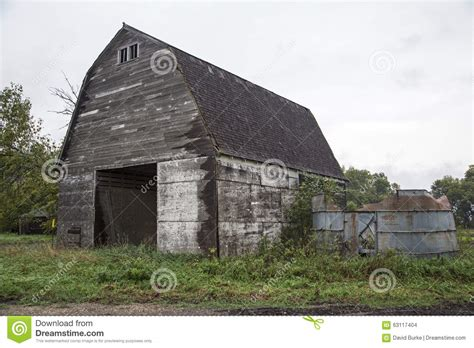 antique barn silo gray sky trees stock photo image 63117404