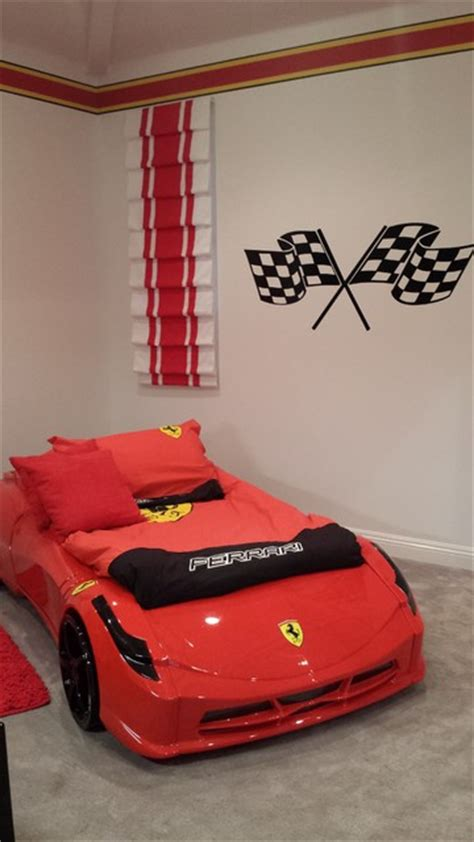 race car bedroom decor ferrari race car bedroom transitional kids los