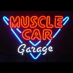 car garage neon sign neon4less