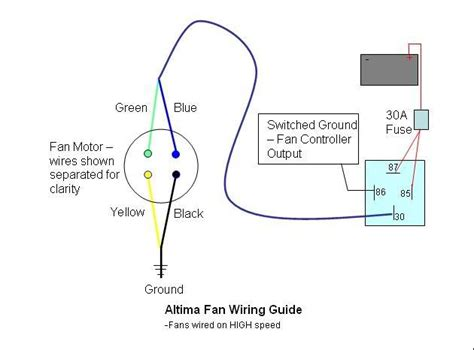 electric fan wiring help zilvia net forums nissan