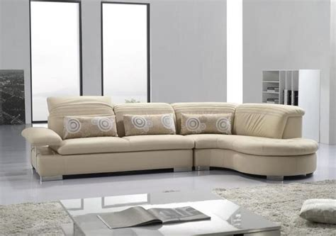 Sectionals Sofas Advanced Adjustable Modern Leather L Shape Sectional With