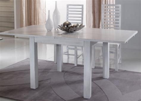 tavoli allungabili bianchi tavolo bianco shabby chic allungabile legno massello