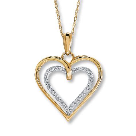 necklace 1 10 ct tw cut 10k