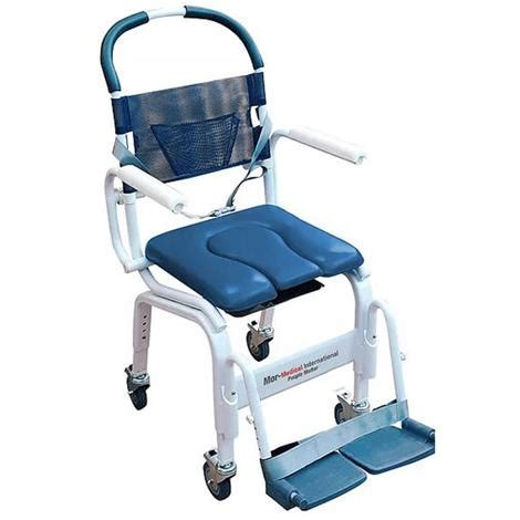 How To Use A Commode Chair by Mor Deluxe Rehab Shower Commode Chair