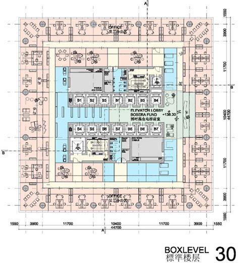 bank of china tower floor plan hans hollein sbf tower