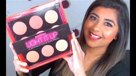 smashbox light it up blush palette smashbox light it up blush palette review