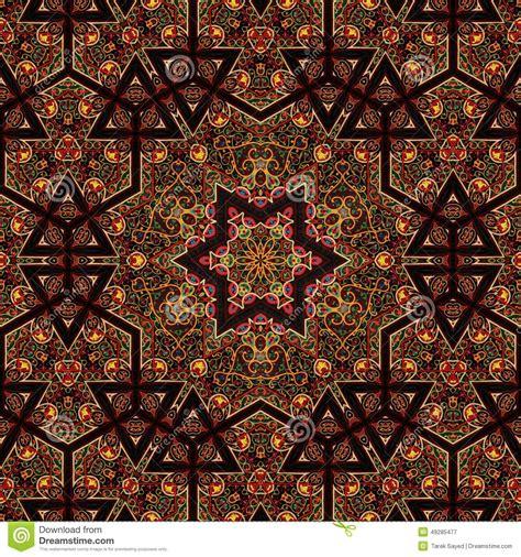 art pattern maker seamless khayameya pattern design 034 stock photo image