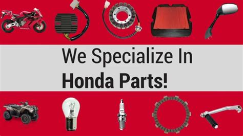 Spare Part Honda Genuine Part honda motorcycle parts honda atv parts honda dirt bike