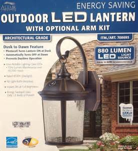 outdoor lights costco altair lighting outdoor led lantern architectural grade