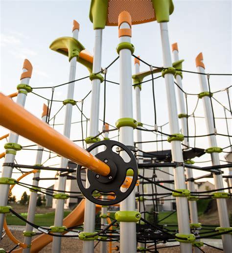 Landscape Structures Netplex Playbooster 174 Netplex 174 Design 3813 Edgewater Park Caddetails