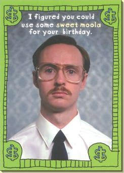 Napoleon Dynamite Birthday Card