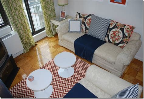 Diy Area Rug From Fabric 7 Diy Rug Options For Renters Or The Noncommittal The Borrowed Abodethe Borrowed Abode