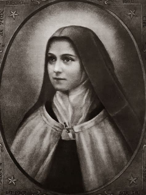 Theresa Flower st therese de lisieux quotes quotesgram