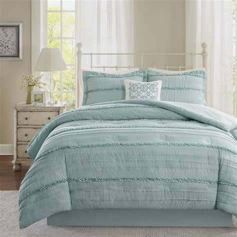 isabella comforter set madison park isabella blue comforter set free shipping