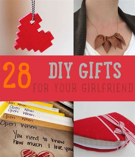gifts for your wife 28 diy gifts for your girlfriend christmas gifts for