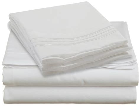 10 best white sheet sets of 2018 silky soft cotton satin and clara clark premier 1800 series 4pc bed sheet set queen