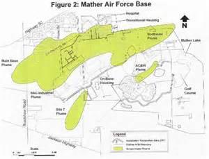 mather california map mather air base