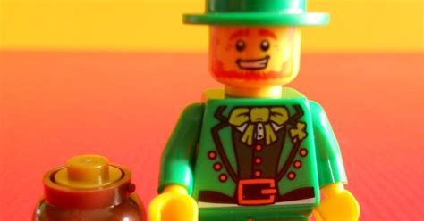 Lego Minifigure Leprechaun dexters diecasts dexdc lego minifigure series 6