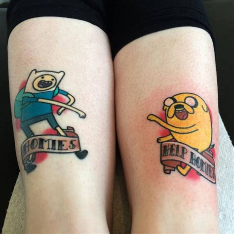 funny matching tattoos 28 matching tattoos for