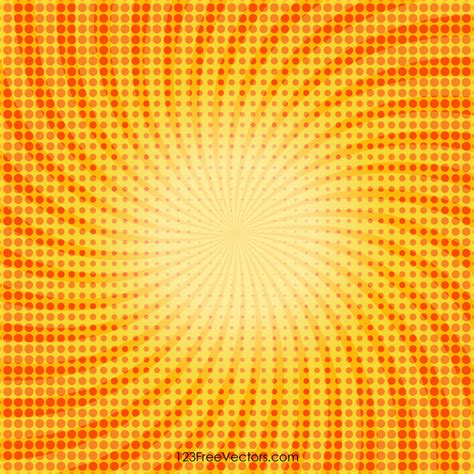 yellow halftone dots background 123freevectors