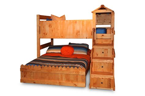 bunk bed with fort bunk beds for mathis brothers trendwood the fort loft