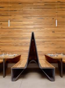 reclaimed wood from barn beams was used for the table
