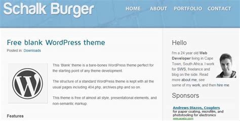 wordpress theme editor blank page 12 best blank wordpress themes to play with web hosting