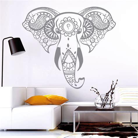 wandtattoo asiatisch 10820 wandtattoo loft aufkleber indischer elefant
