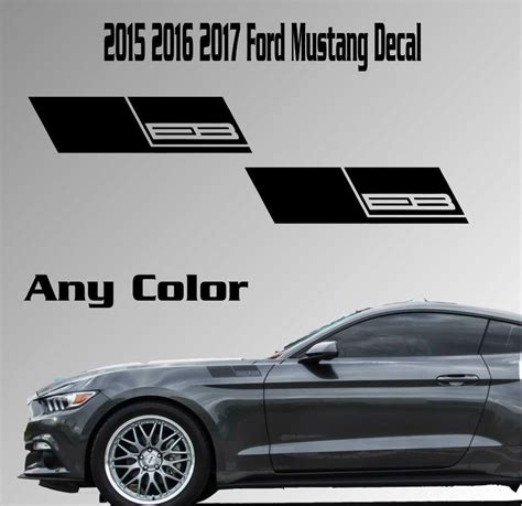 Ford Mustang Stickers Decals