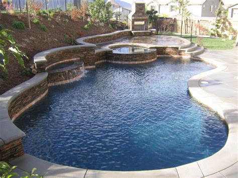 awesome backyard pools awesome backyard pool landscaping design with natural wall
