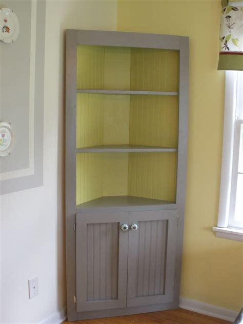diy cabinets ana white cute corner cabinet diy projects