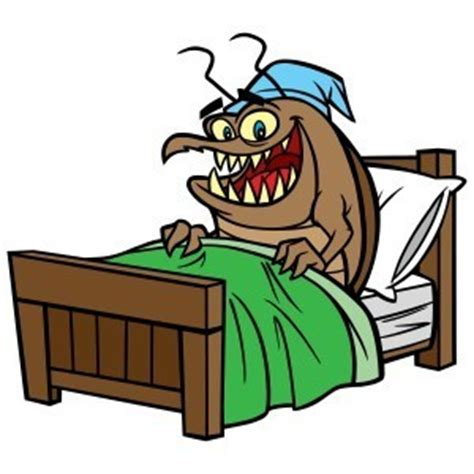 bed bug cartoon bed bug behavior fischer s pest control blog