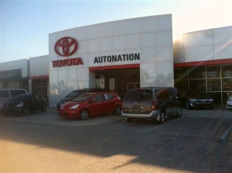 Autonation Toyota Service Autonation Toyota Winter Park Service Center At 225