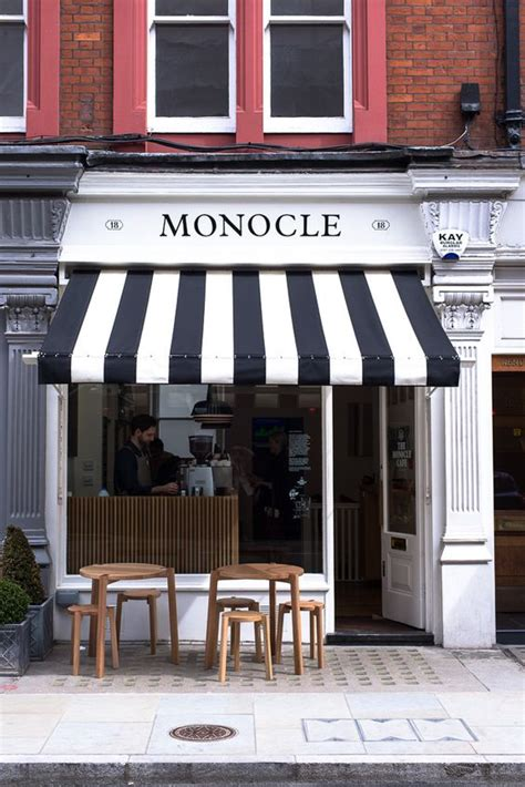 black and white awning the monocle caf 233 black and white awning open trade