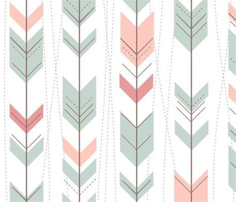 geometric pattern arrow tribal arrows aztec ikat pastels by doucettedesigns