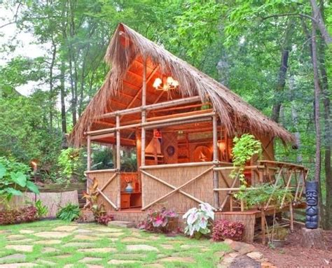 Backyard Hut Tiki Bars Pinterest Backyard Tiki Hut