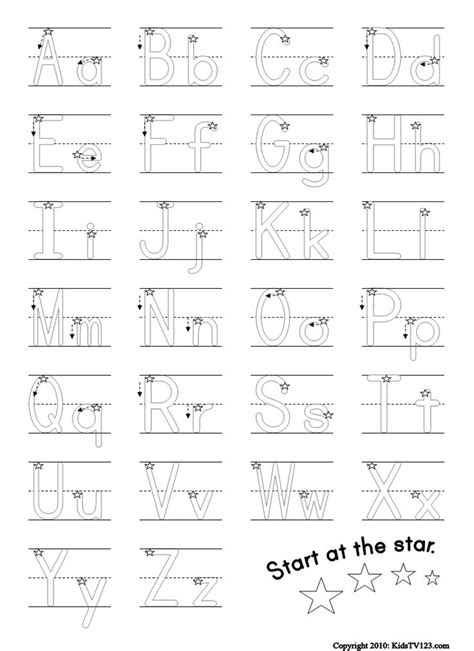 printable alphabet test for kindergarten 25 best ideas about alphabet worksheets on pinterest