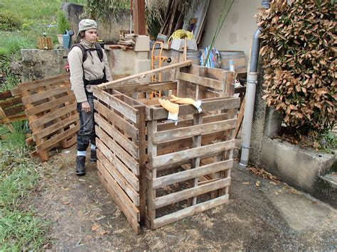 Fabrication D Un Composteur by Fabrication D Un Composteur En Palettes Nature