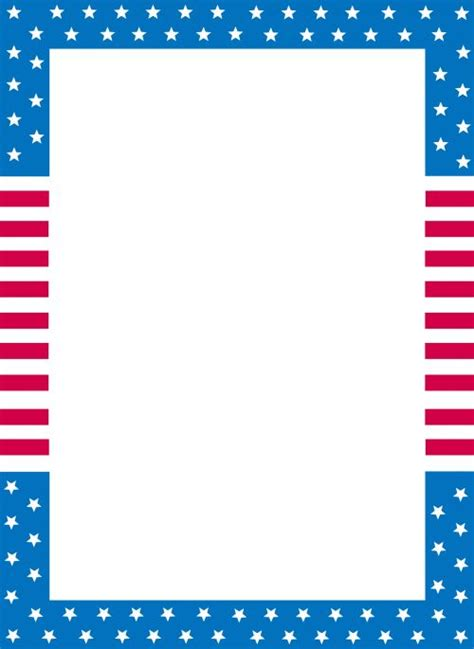 printable flag stationery printable stationary usa flag kid flags and pictures of