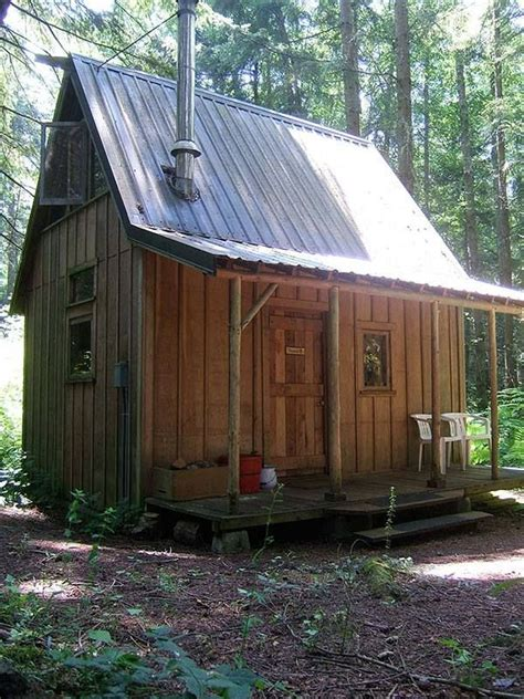micro cabin four lights tiny house company tiny cabin pinterest