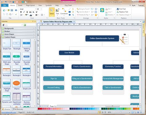 mac diagramming software hierarchy diagram software mac gallery how to guide and