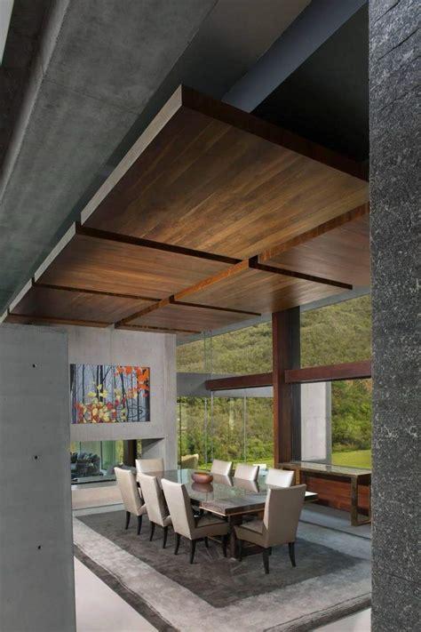 Plafond Moderne Design by Faux Plafond Moderne Design Quatre Espaces De Travail Et