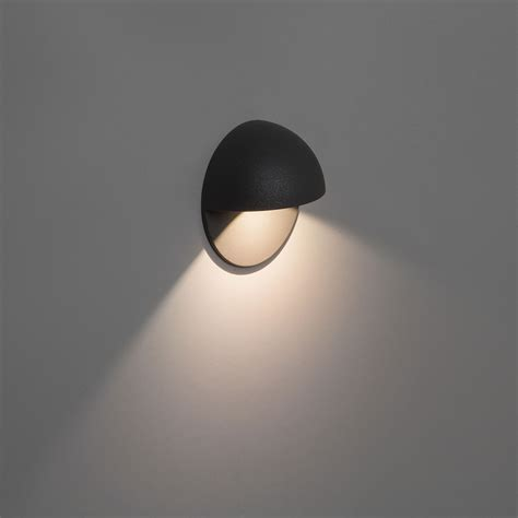astro external wall light astro tivoli led black outdoor wall light at uk electrical