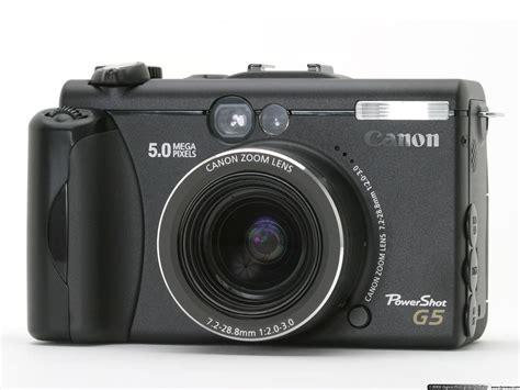canon g5 canon powershot g5 review digital photography review